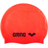 arena Classic Silicone Bathing Cap red